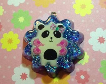 Fairy Panda Resin Pendant