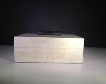 Bone Inlay Decorative Box, horn