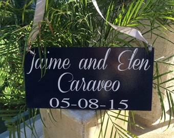 Custom Wood Sign - Last Name Sign - Established Sign - Wedding Gift - Bridal Shower Gift - Anniversary Gift - Home Decor Personalized Sign