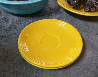 Vintage Fiestaware Saucer Set