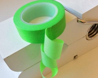 Plain Green Washi Tape - 15mm x 10m roll - Masking tape, Gift wrap tape, Decor tape, Washy tape, Paper tape, Pantone Washi tape