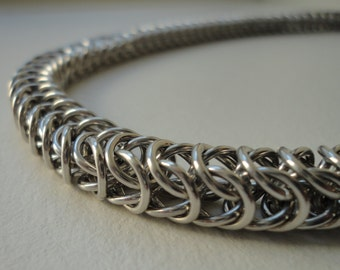 Chainmaille Necklace - Box Chain