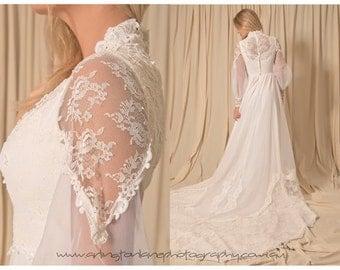 1960 vintage wedding dress