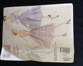 Vintage Vogue Original Design DressPattern