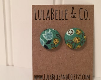 Ireland Button Earring