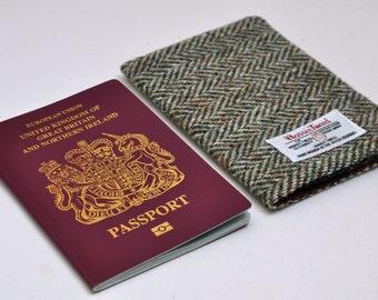 HARRIS TWEED Passport Cover  - Original