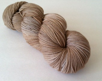 Baah La Jolla Yarn Color Hazelnut      Hand Dyed Premium Artisan Yarn!    400 Yards!