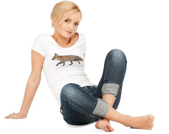 Fox instant download full color t shirt design diy digital for Free download t shirt design software full version