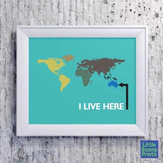 Large World Map Pdf Large World Map Brisbane