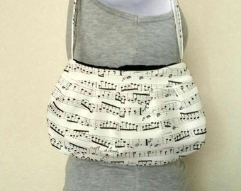 Music Sheet Purse