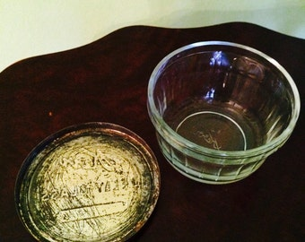 Vintage Kerr Jelly Glass Jar Canning Jar with Seal