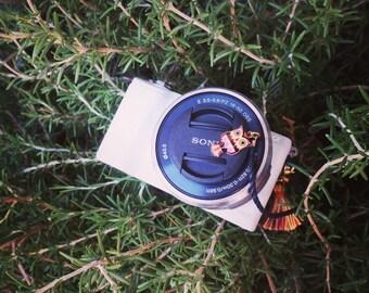 Camera Lens Cap Holder - Brown Owl