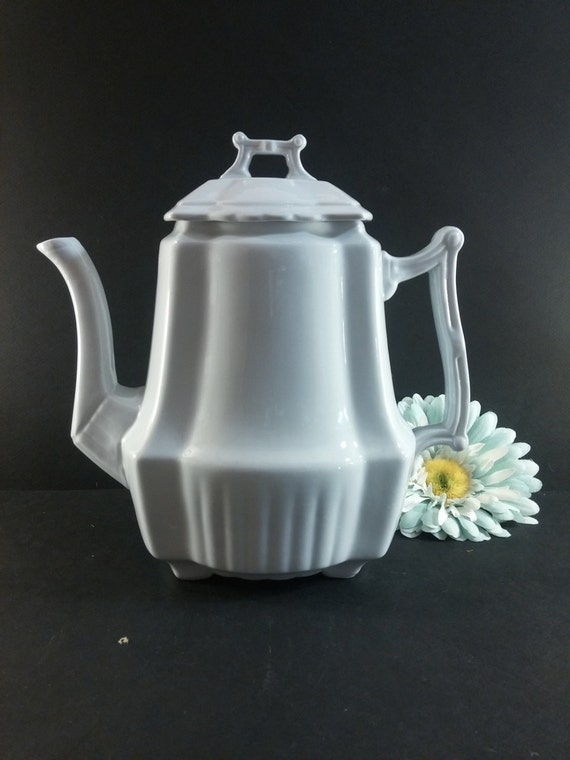 Johnson Brothers China White Johnson Brothers White Teapot