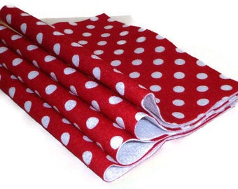 Etsy your place to buy and sell all things handmade for Polka dot felt fabric