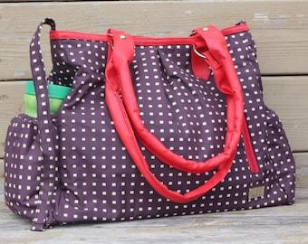 Sale! Leather Diaper Bag, Baby Bags, Waterproof Diaper Bag Purse, Large Diaper Bag, Nappy Bag, Tote Bag, Diaper Bag for girls,Weekender Bag