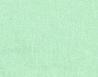 Cotton + Steel Bespoke- Mint DOUBLE GAUZE, 1/2 yard