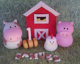 Farm Fondan tcake Set