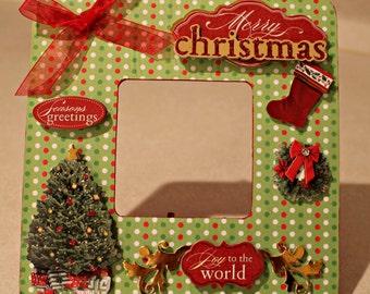 Christmas/ Holiday/Christmas Decor/Merry Christmas/ Picture frame