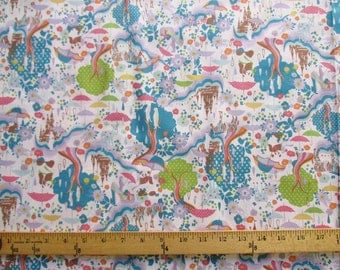 SALE Pastel Fantasy! Kayo Horaguchi Cotton-Linen Fabric from Japan