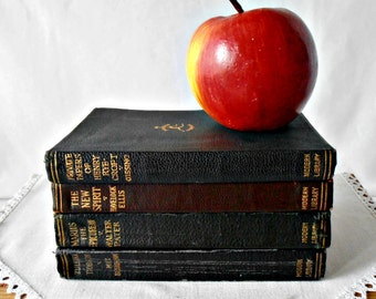 Vintage Modern Library Series Classic Book Collection - 1920's Boni And Liveright Publisher - Leatherette Collectible Books
