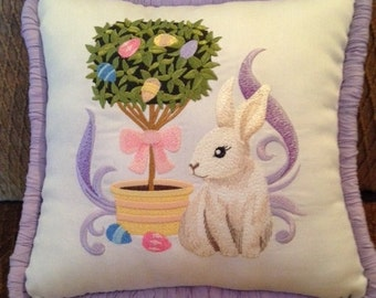 Easter Topiary Pillow