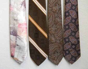 FREE usa SHIPPING instant  collection of preloved vintage men ties