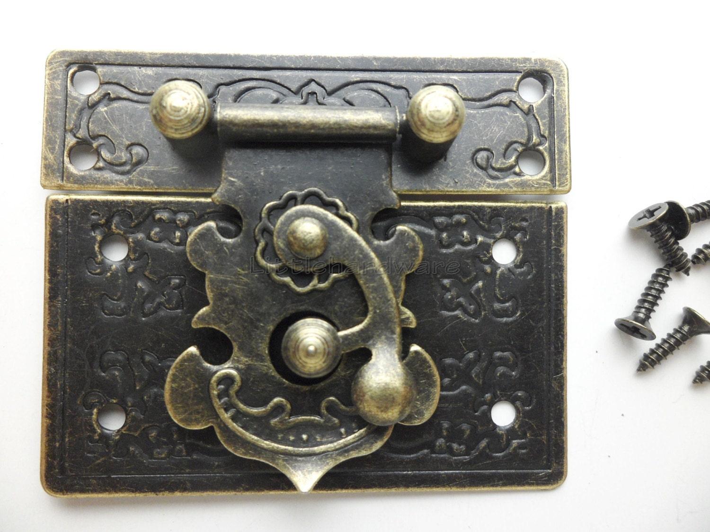 55mmx47mm Lock Latch Small Box Hardware Jewelry Box Latch Gift
