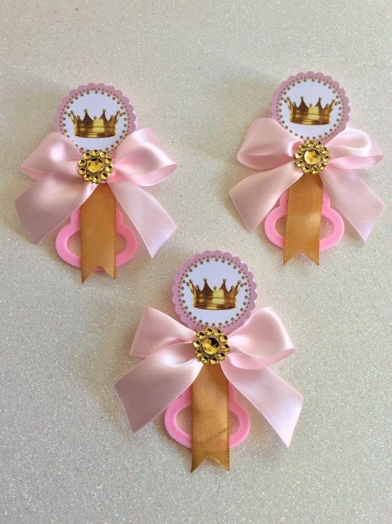 12 pink little princess baby shower pins little princess baby shower