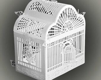 3D SVG PDF Birdcage DIGITAL download