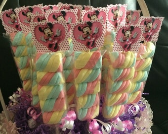 Minnie Mouse Birthday Party  Marshmallows Favors