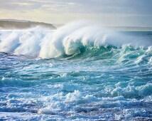 Wave Photography, Beach photos, Surf Photos Australia, Wave Photos, Sea Photos, Blue, Stormy Wave, Stormy Wave Wall Art, Stormy Surf Decor