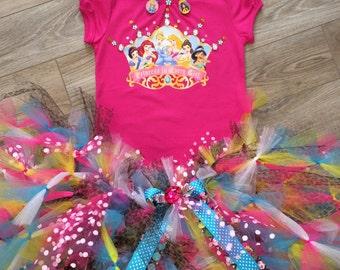 Disney Princess crown  tutu set your size  disney