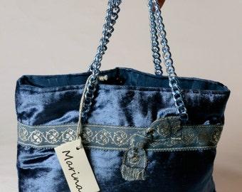 Velvet bag no. 1003