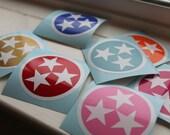 Tennessee Tri-Star Sticker