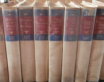 9 Zane Grey Novels
