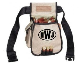 5 Pocket Shotgun Shell Bag Personalized