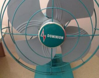 mid century dominion electric fan