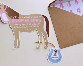 pony ride invitation  etsy, party invitations