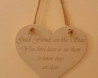 Good friend  plaques