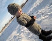 KNITTING PATTERN PDF Dress and Hat - Knit pattern dress and hat - knit girl dress - knit girl hat