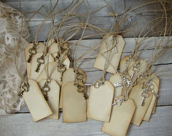Wedding Wish Tree Tags,Wish Tree Tags,Wedding Tags,Bride and Groom Tags,Wedding Favor Tags,Large tags,skeleton key,wedding gift