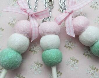 Mochi Ice Cream Necklace