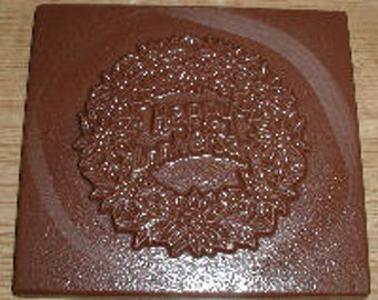 Happy Anniversary Greeting Card Chocolate Mold