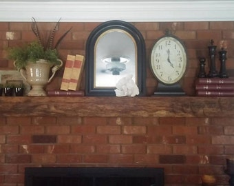 Reclaimed Oak Mantle