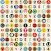 FREE SHIPPING!! Cavallini-Vintage Alphabet Wrap