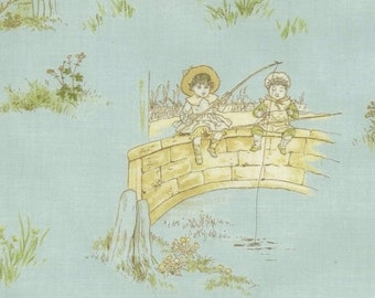 Kate Greenaway - Blue