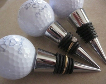 Hole in One Wedding Wine Stopper Wedding Favors