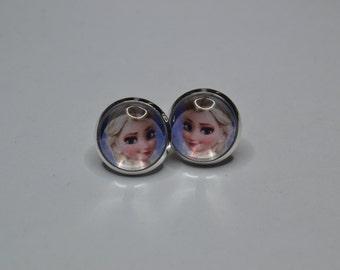 Disney Princess Elsa earrings