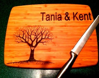 Personalized Cutting Board, Custom Design
