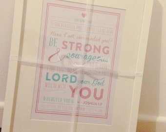 Personal Bible Verse Frame